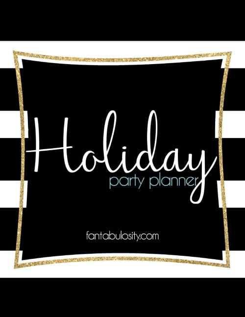 Holiday Party Planner Download - Party Details
