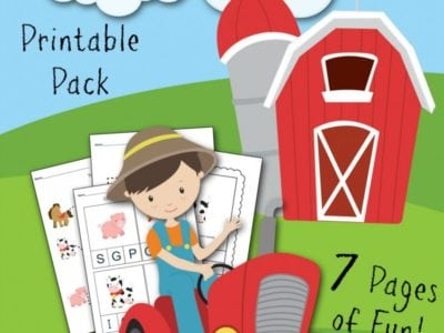 On the Farm Free Printable Kids Activities Sheets fantabulosity.com
