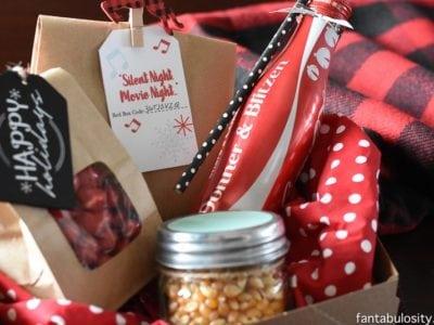 Red Box Movie Night Gift Idea fantabulosity.com
