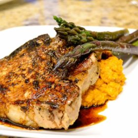 Sweet & Smokey Pork Chops Recipe