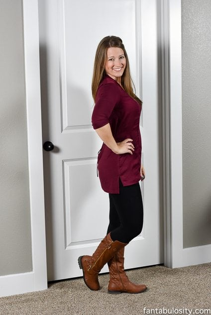 Stitch Fix Review December 2015 Try - On Video and photos on Fantabulosity