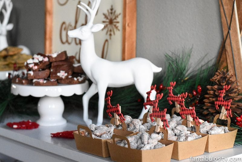 How fun would this be to create for even a small gathering at home!? Simple Tips for Creating a Holiday Dessert Bar