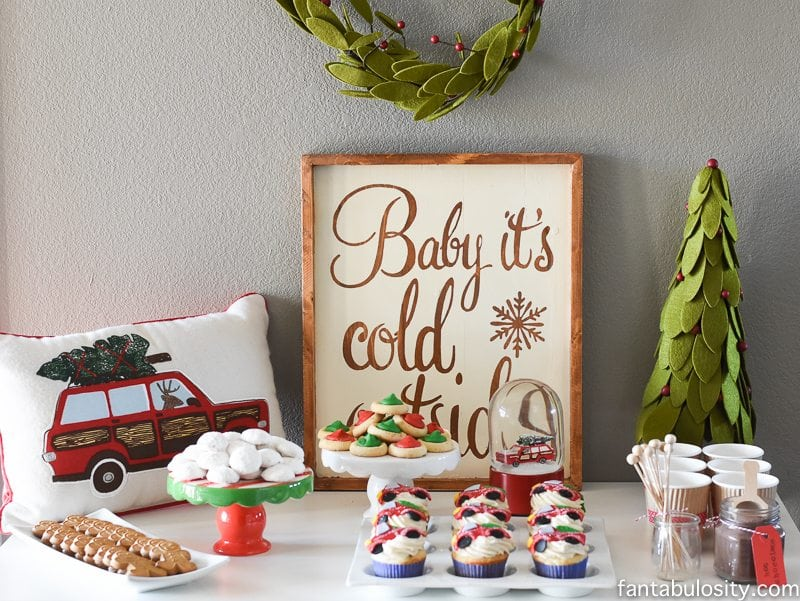 Nice Vintage Christmas Party Ideas Part - 8: Vintage Christmas Party Ideas: Truck With Christmas Tree