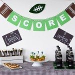 Score! Easy DIY Football Party Ideas