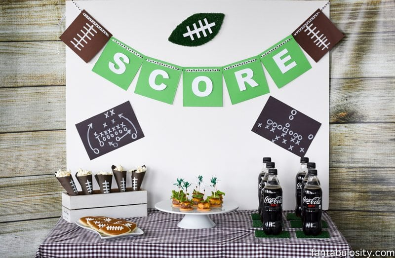 Football Party Ideas fantabulosity.com