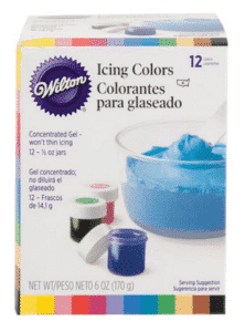 Wilton Icing Colors from Walmart