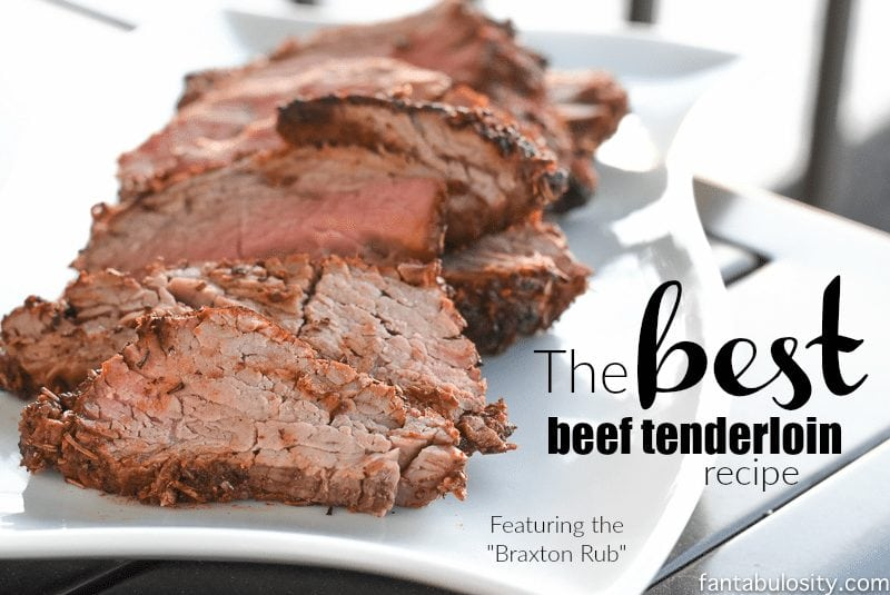 Holy Cow!!! This is the BEST Beef Tenderloin Recipe EVER. https://fantabulosity.com