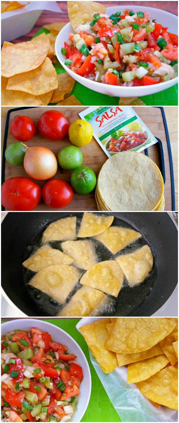 Easy Homemade Chips and Salsa