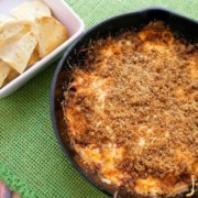 OMG!!! Creamy Reuben Sandwich Dip. This is the perfect appetizer for super bowl, or any party. https://fantabulosity.com