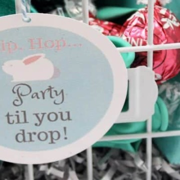 An Easter Basket for All Party Planning Enthusiasts
