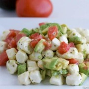 Chopped Caprese Salad Recipe fantabulosity.com