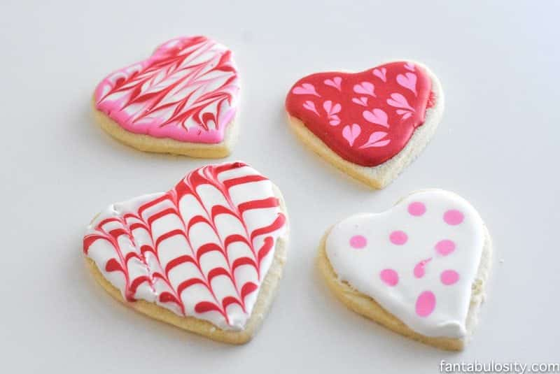 PINTEREST FAIL: Valentine's Day Cookies Decorating Fail fantabulosity.com