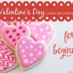 Valentine's Day: Heart Cookie Decorating & Pinterest Fail