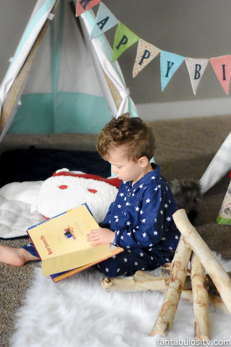 Camping Birthday Party Ideas For Indoors Fantabulosity