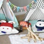 Camping Birthday Party Ideas for Indoors