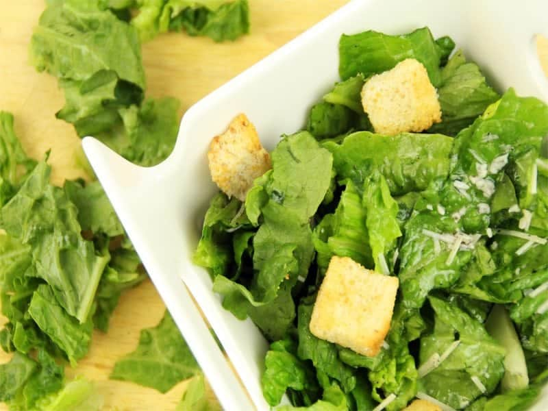 Easiest Side Salad Recipe Made Using a Sandwich Bag