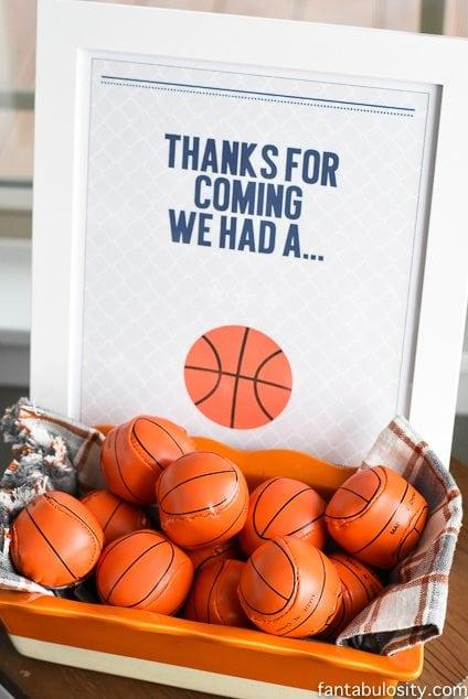 Basketball Party Ideas https://fantabulosity.com
