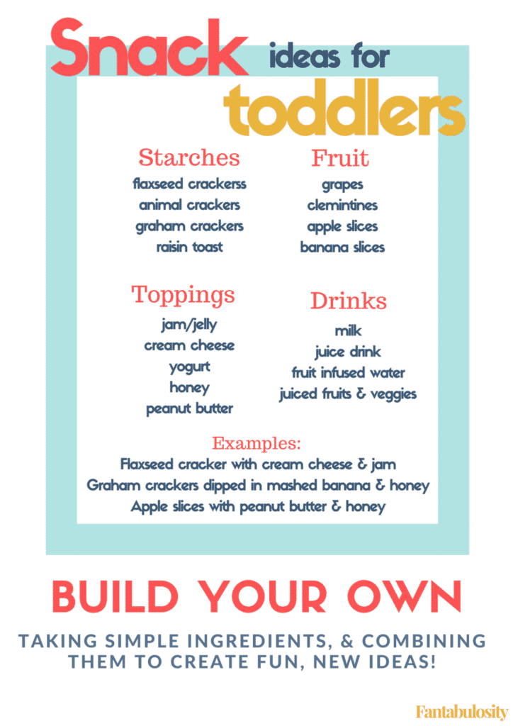 Healthy Snack Recipe Ideas for Toddlers