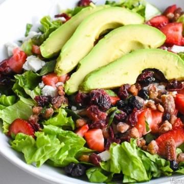 Summer Side Salad fantabulosity.com