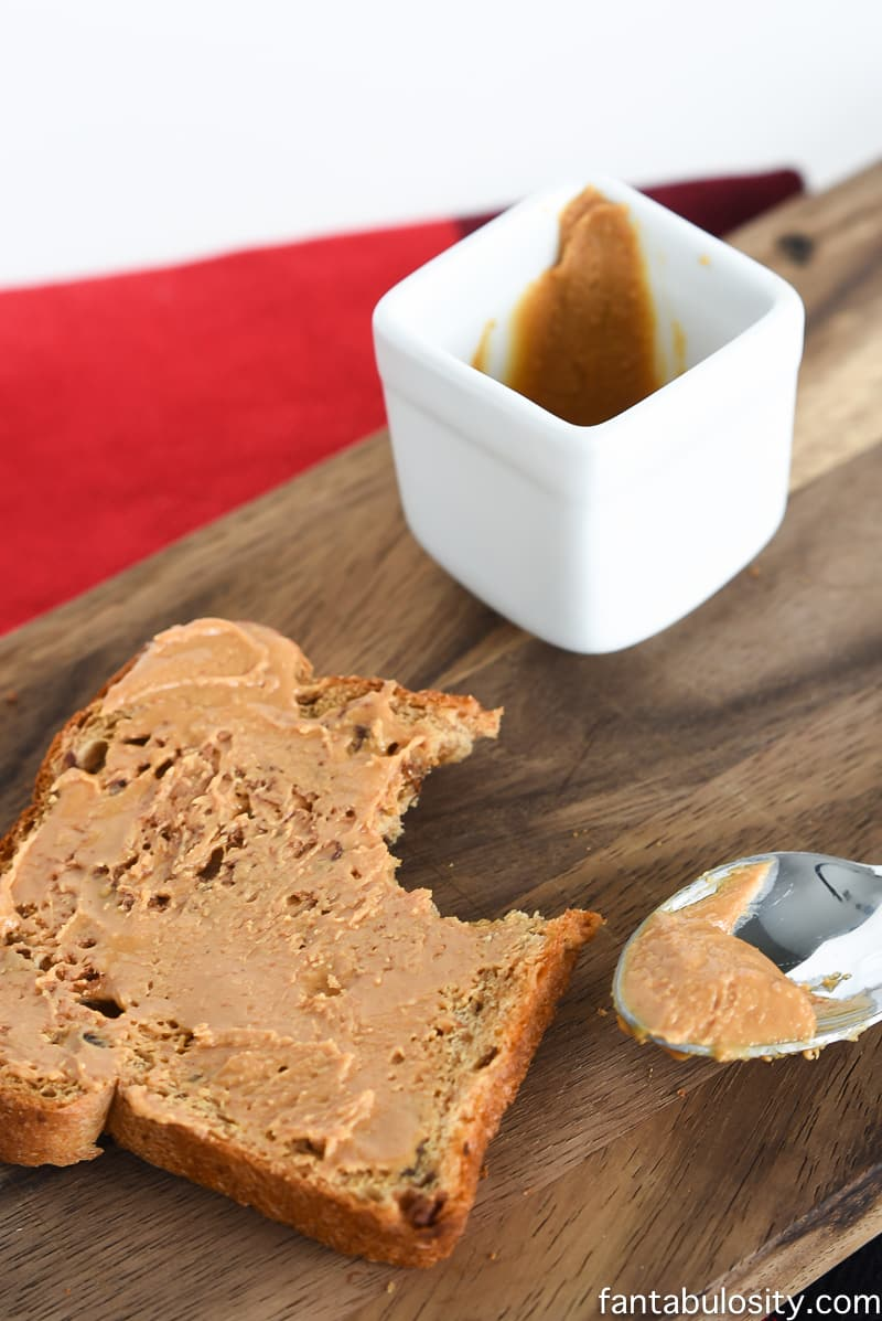 Raisin Toast with Peanut Butter! Healthy Snack Recipe Ideas for Toddlers