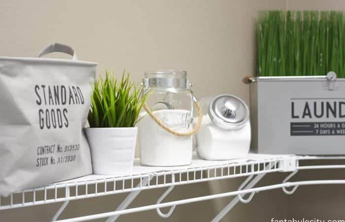 Laundry Room Decor Ideas; modern decorations, simple and easy organization