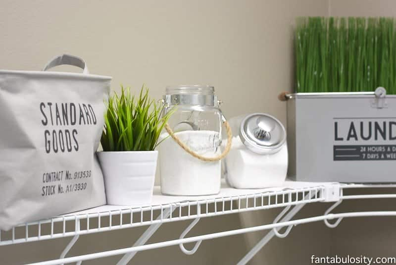 Laundry Decor Diy Laundry Room Shelving & Storage Ideas  Fantabulosity