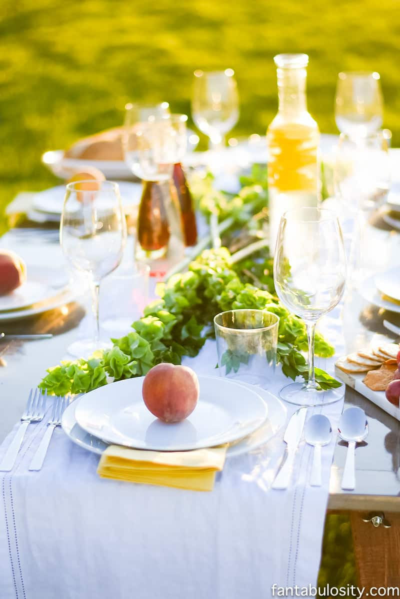 Pop up backyard dinner party fantabulosity for Best dinner party ideas