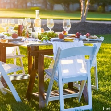 Pop Up Backyard Dinner Party: Entertaining Ideas, classy, easy simple, quick, fun, outside