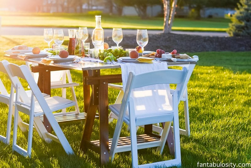 Dinner Party Fun Ideas Part - 37: Pop Up Backyard Dinner Party: Entertaining Ideas, Classy, Easy Simple,  Quick,