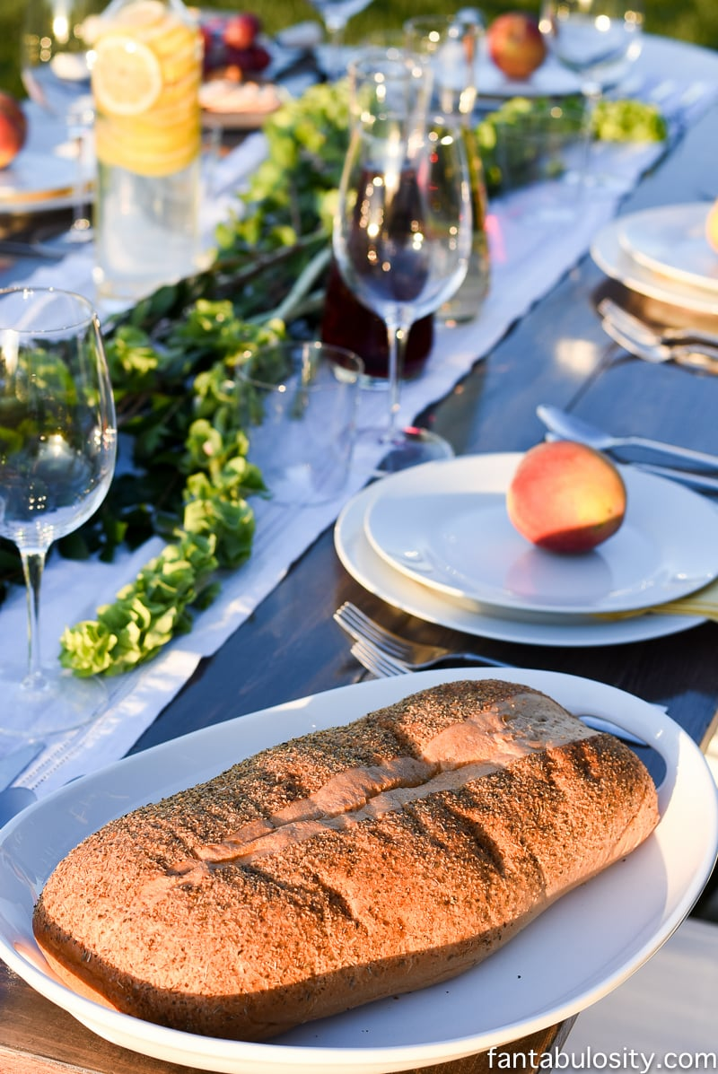 Pop Up Backyard Dinner Party: Entertaining Ideas, classy, easy simple, quick, fun, outside. Outdoor Party Ideas