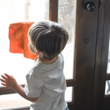 Spring Cleaning with Toddlers