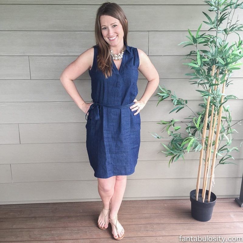 Denim Dress: Spring Fashion Deal
