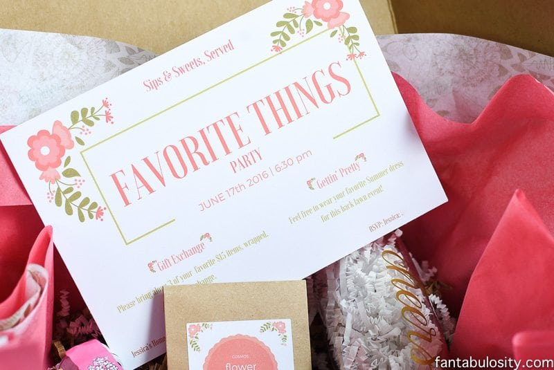 You Re Invited Favorite Things Party Fantabulosity