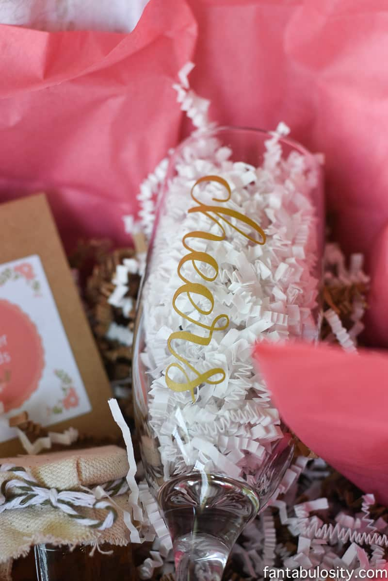 """Favorite Things Invitation Ideas - A """"cheers"""" champagne bottle! Adorable."""