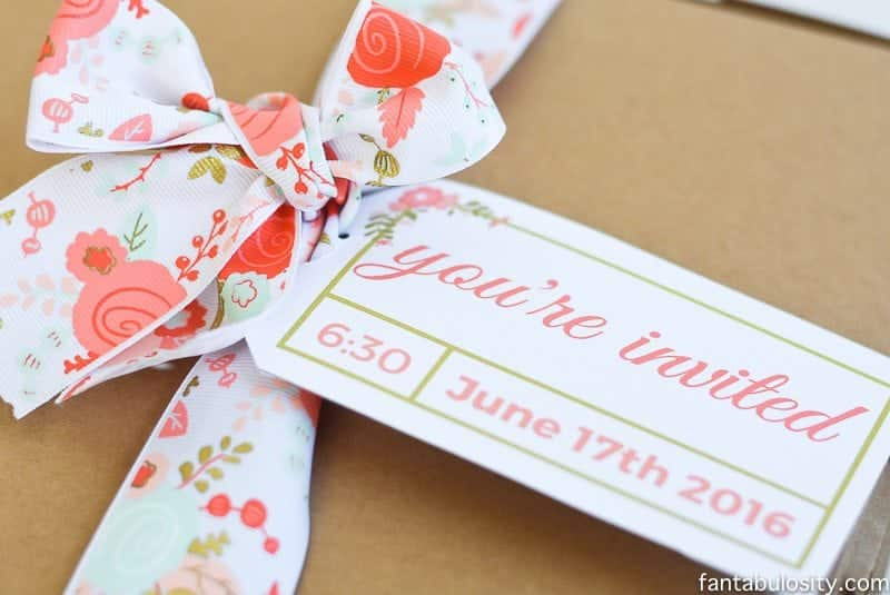 Favorite Things party invitation ideas