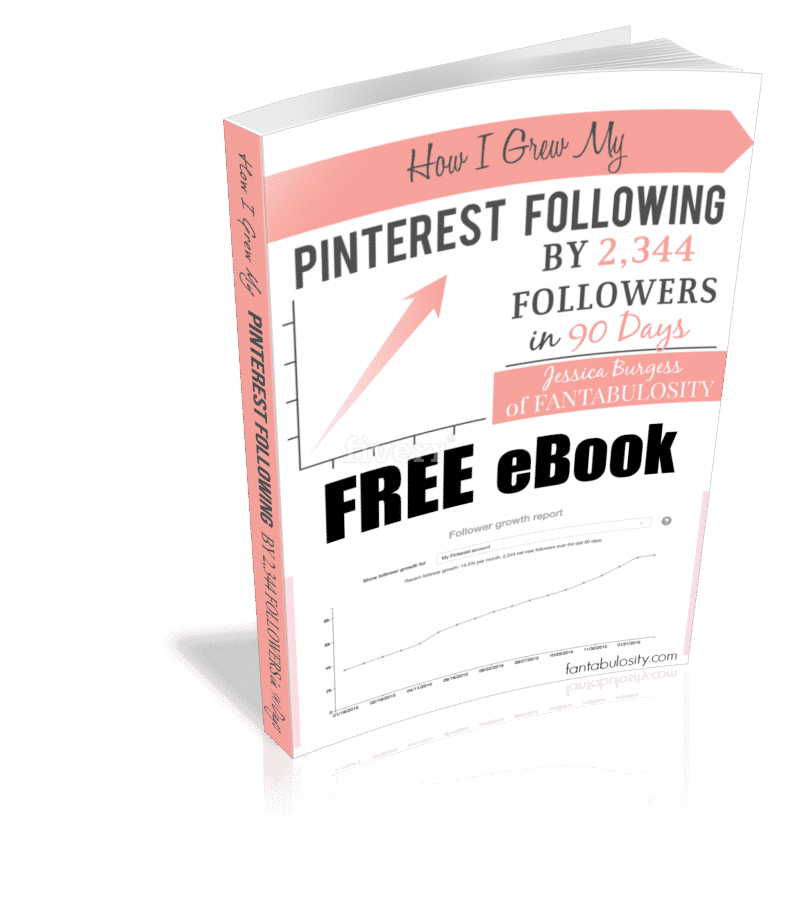 How I Grew my Pinterest Following by 2,344 Followers in 90 Days 3D Book