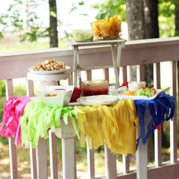 Simple Taco Bar Party Ideas