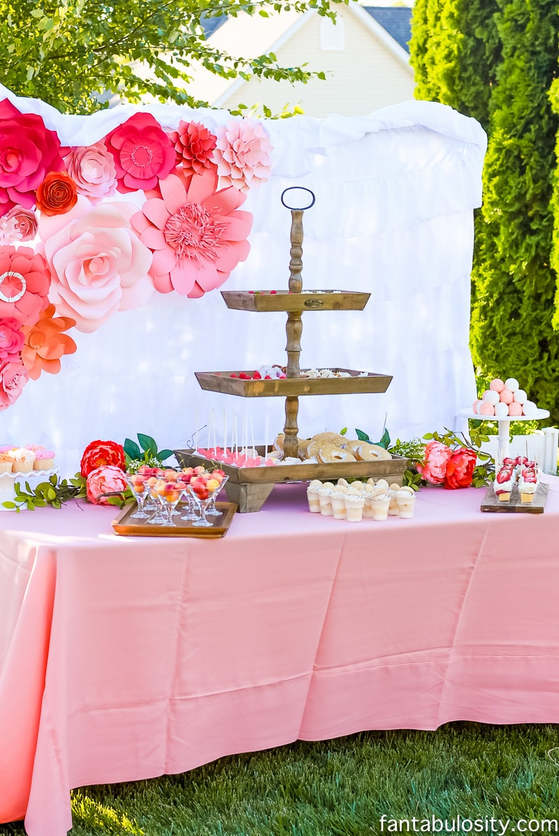 Favorite Things Party Ideas: Outdoor Girls Party