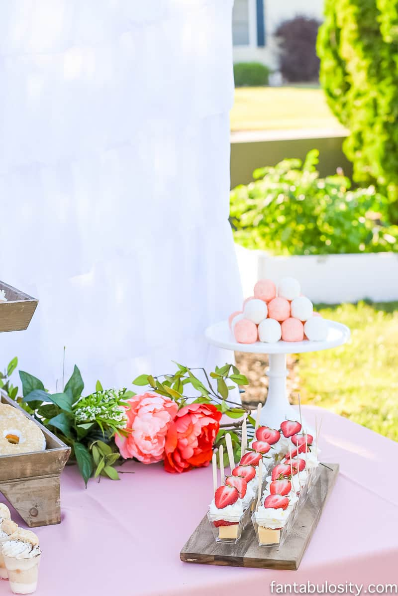 Favorite Things Party Sweet Dessert Ideas, dessert table