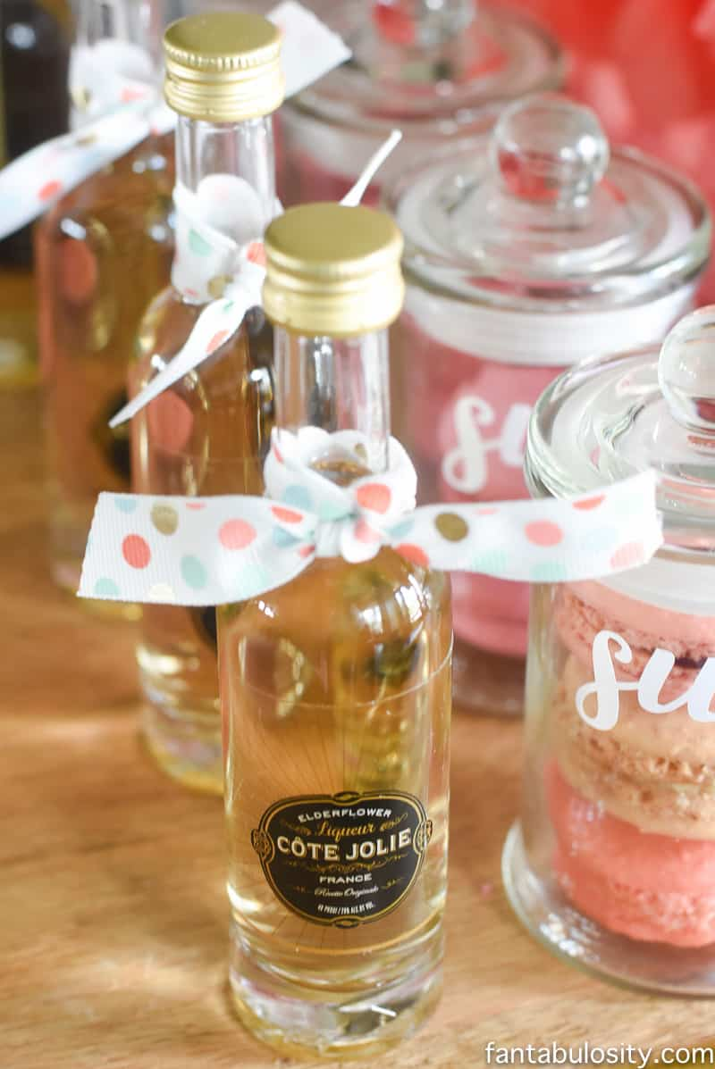 Favorite Things Party Favor Liquor Bottles