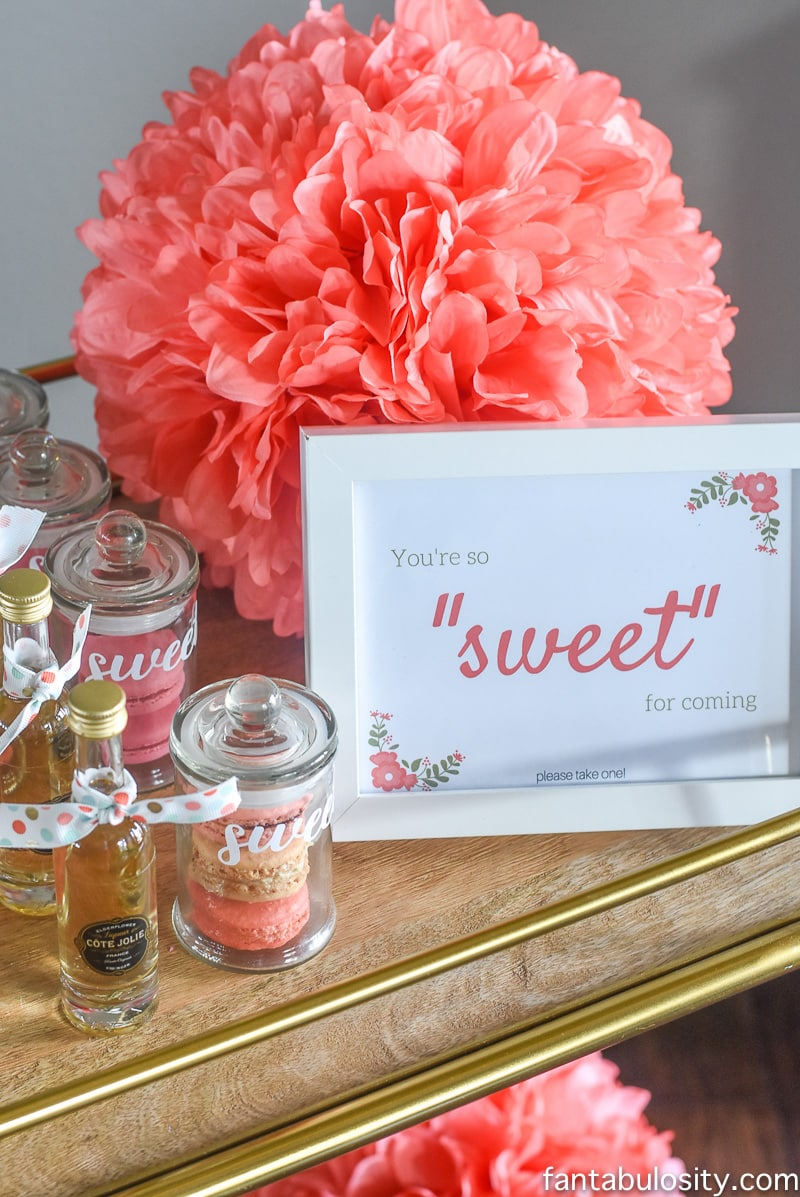 Favorite Things Party Favor Ideas