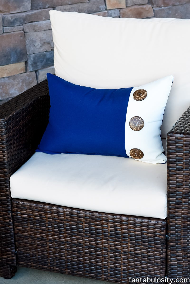 Front Porch patio cushions and pillows fantabulosity