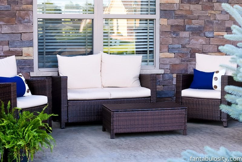 Front Porch Patio Furniture Fantabulosity Home Tour
