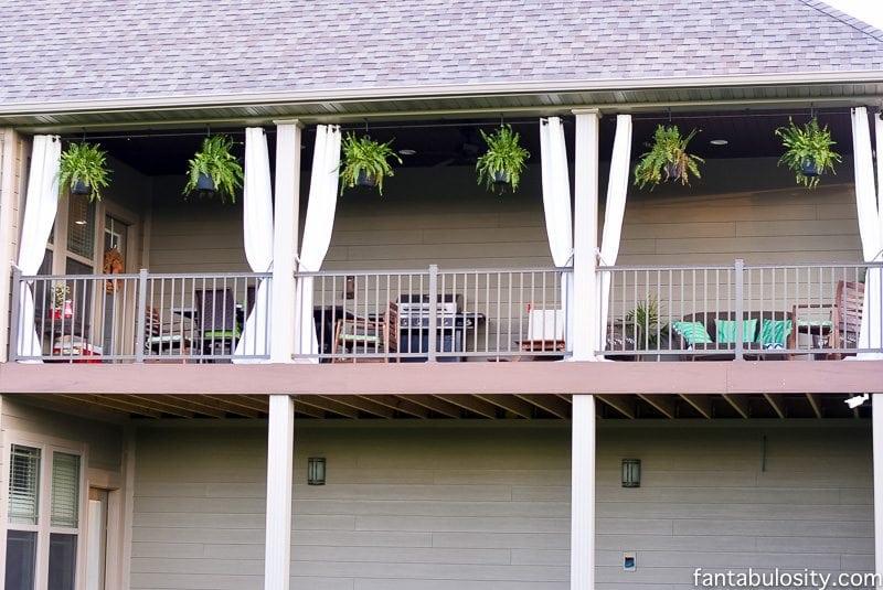 Back Yard Patio Curtains