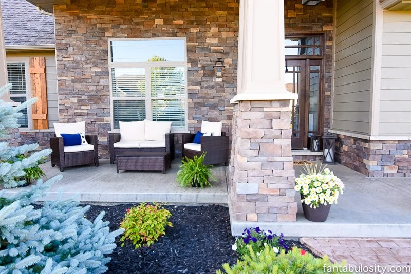 Front Porch Furniture - Patio Fantabulosity Home Tour