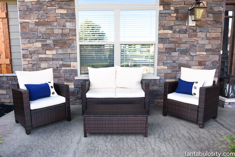 Front Porch Seating Fantabulosity Home Tour