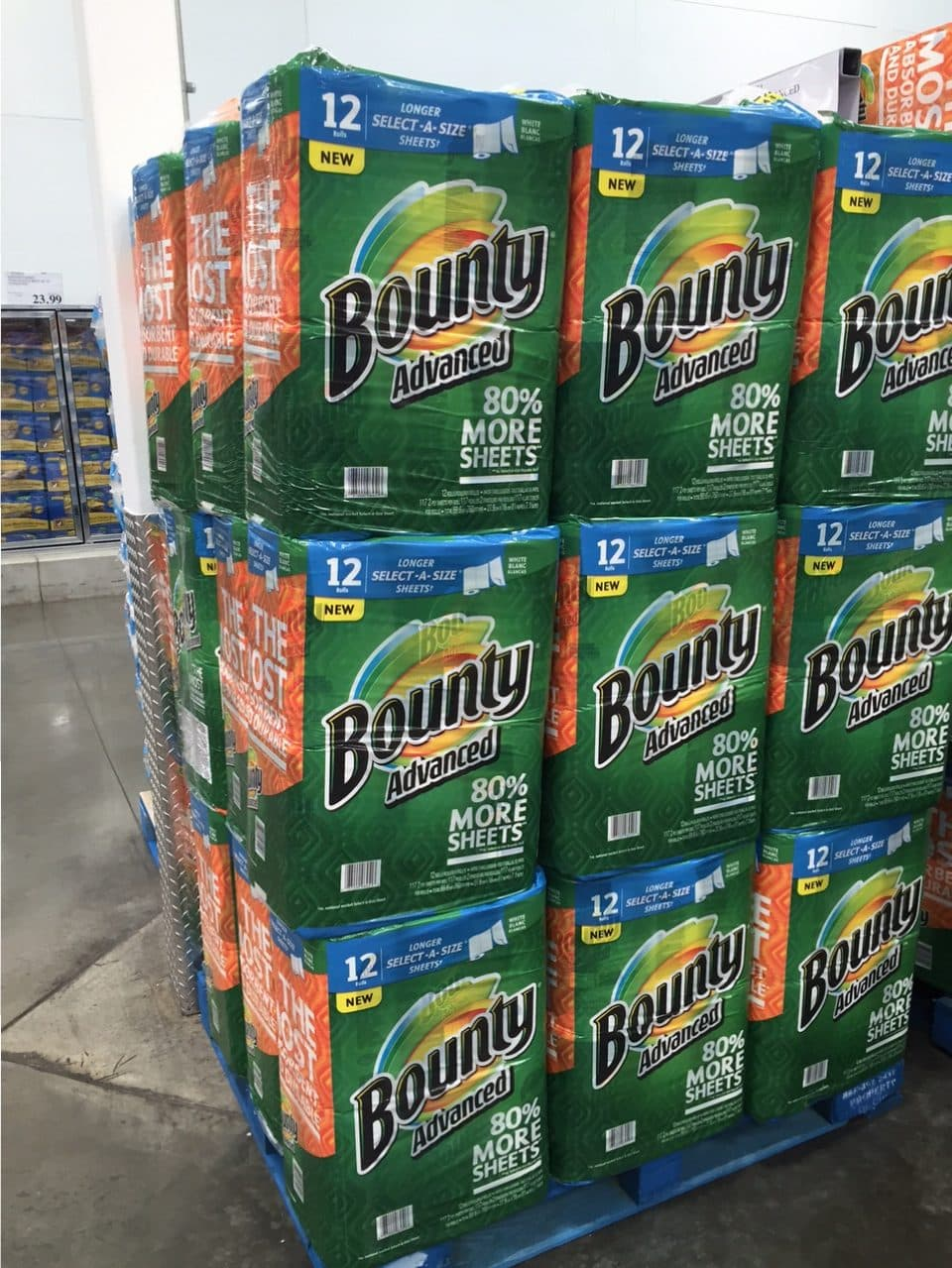 Bounty Advance Paper Towels