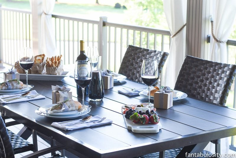 Rustic Wine Dinner Party Ideas