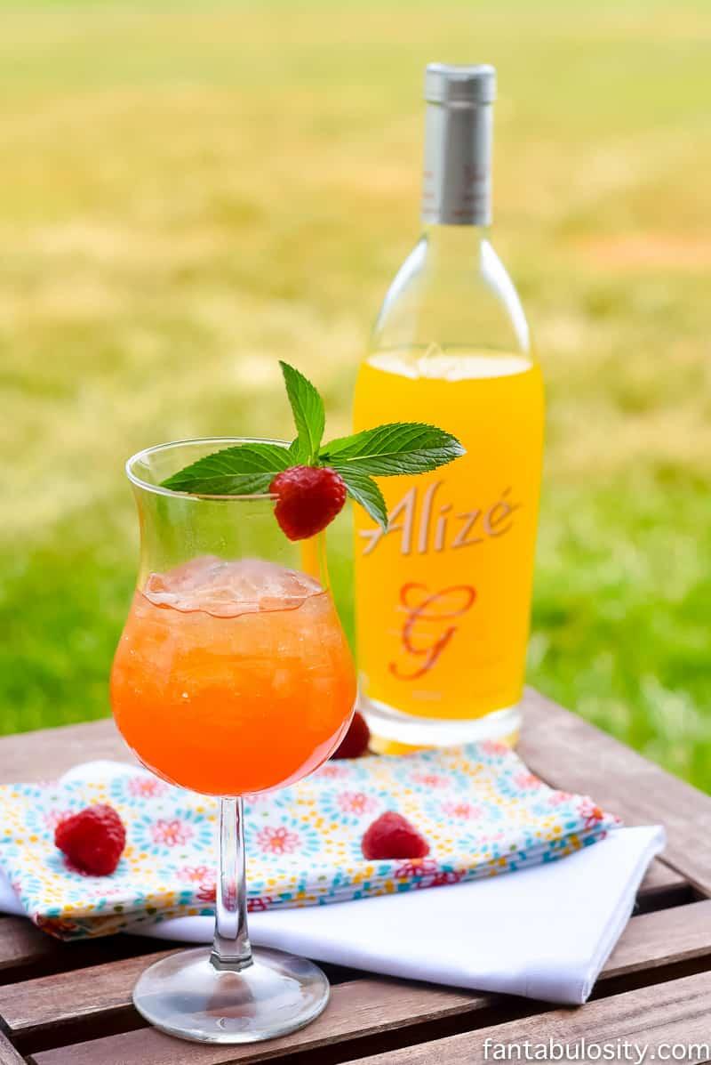 Summer Cocktail Recipes - Passionfruit Tea