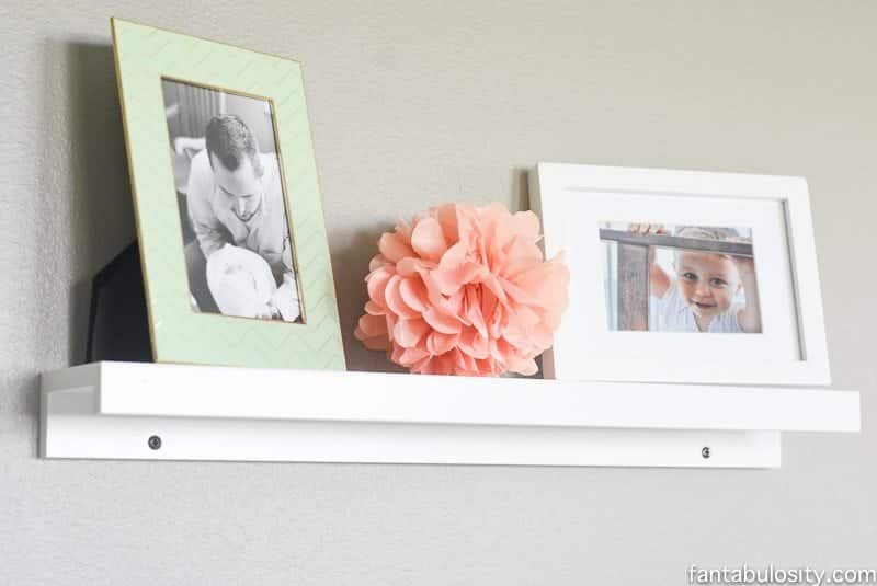 Home office remodel reveal: so chic with the gold white mint and coral
